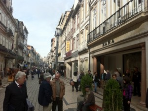 Magasin Zara à Porto