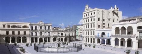 Place de la vieille ville de la havane