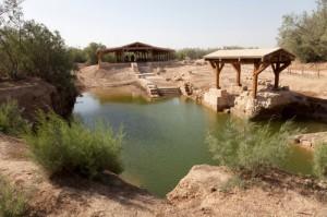 lieu de Baptême du Christ en Béthanie, Jordanie
