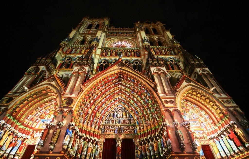 la cathédrale d'Amiens mise à l'honneur sur le marché de Noël