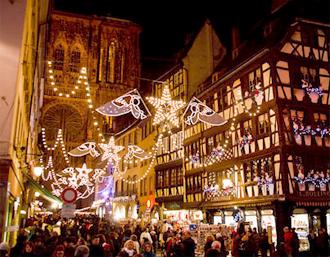 marché de Noël à Strasbourg, marché de l'enfant jésus