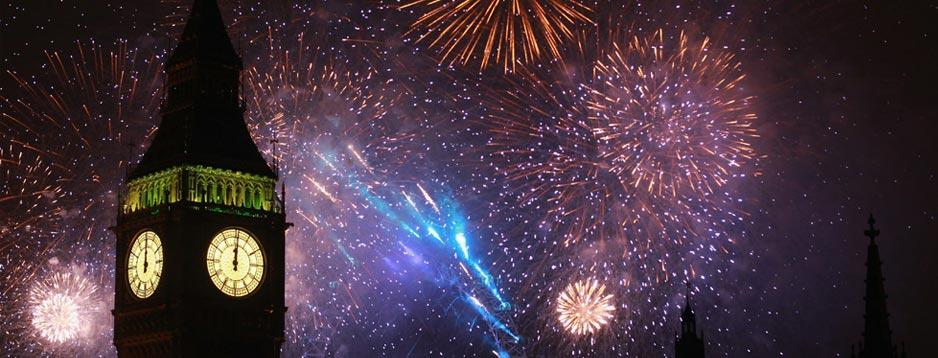 passez la nouvelle année à londres