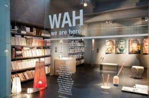 wah concept store à eindhoven aux pays bas, we are here, boutique design