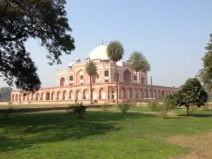 Fort rouge delhi (vue des jardins)