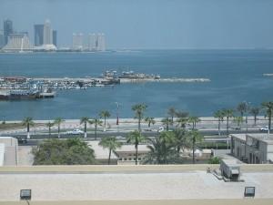 Corniche de Doha au Qatar