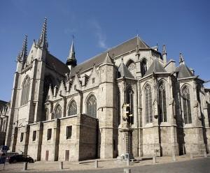 Collégiale Sainte-Waudru à Mons