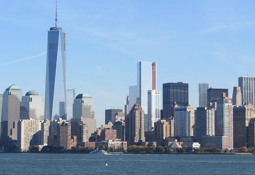 New-York, sur la côte Atlantique Nord