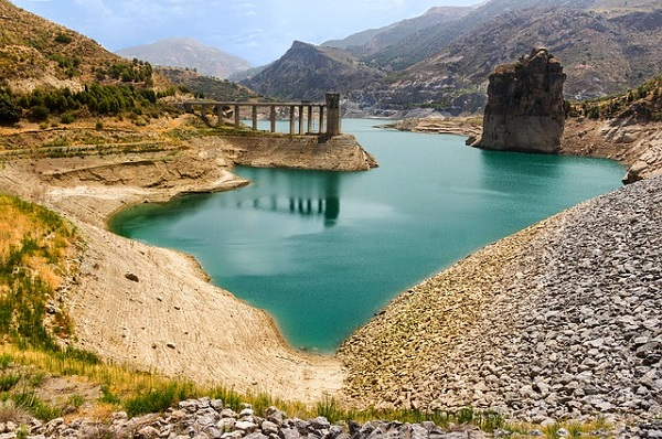 Andalousie, Espagne, rivière Genil