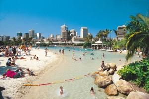 Plage artificielle de Brisbane