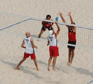 Tournoi de beachvolley