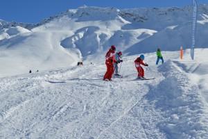 Cours de ski seul avec le moniteur