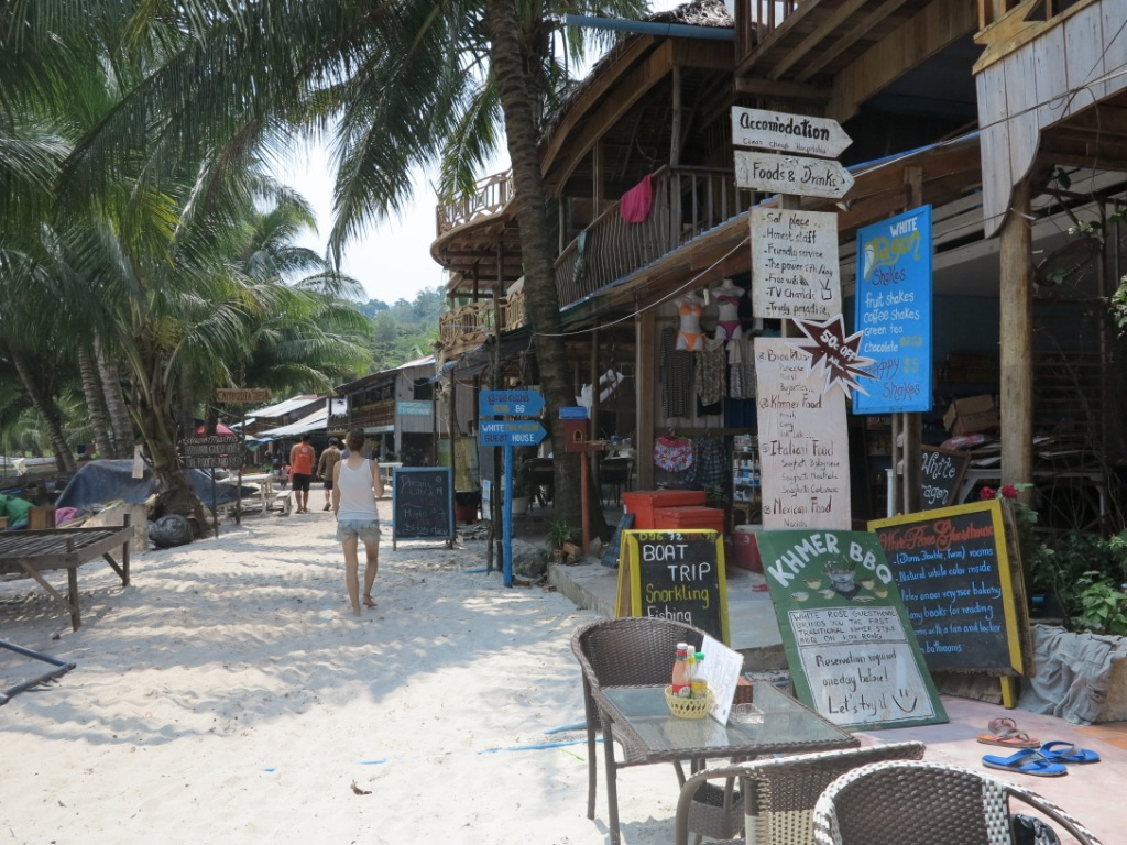 plage îles cambodge