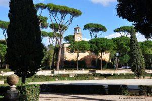 parc Borghèse Rome Italie