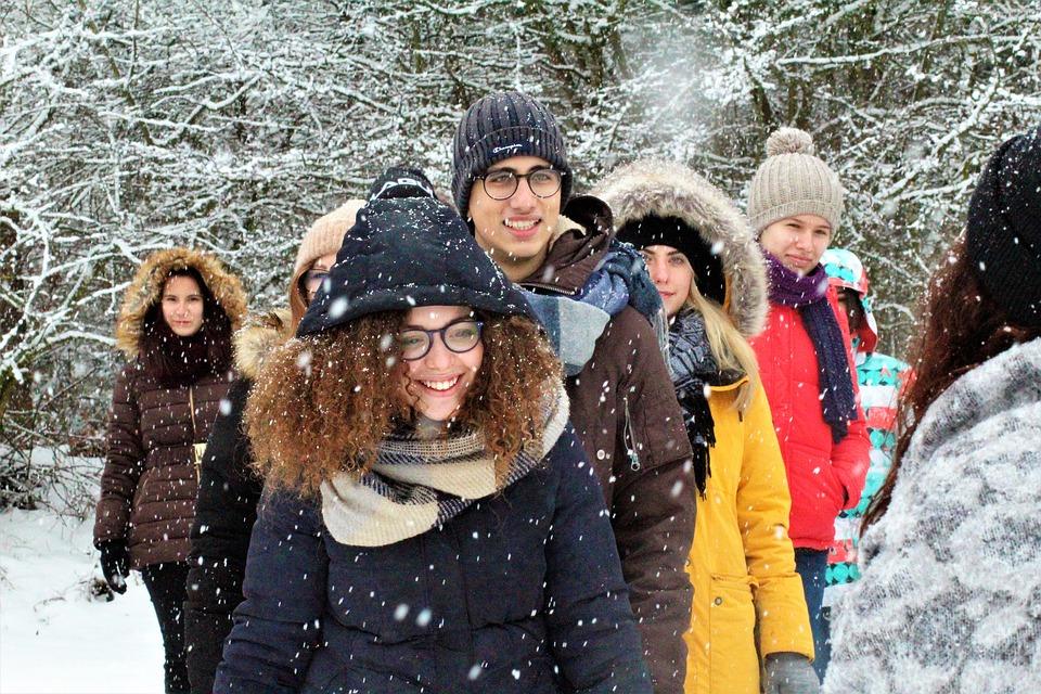 colonie de vacances hiver