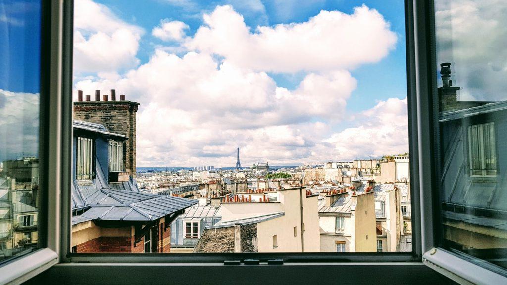 jolie vue sur paris